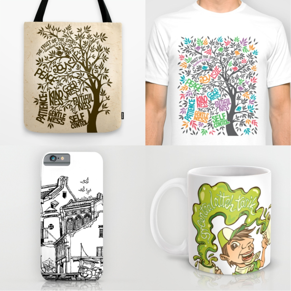 Liyin Society6 Products